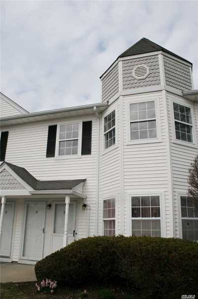 Middle Island Condo/Townhouse For Sale: 19 Country View Ln #19