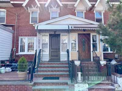 Woodhaven Single Family Home For Sale: 92-16 95th St