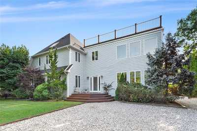 East Hampton Single Family Home For Sale: 115 Mulford Ln