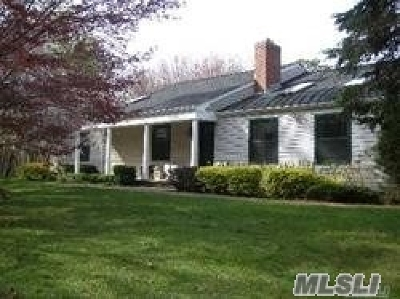 E. Quogue Single Family Home For Sale: 63 Old Country Rd