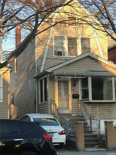 Astoria, Sunnyside, Woodside, Long Island City, Middle Village, Rego Park, Kew Gardens, Bayside, Jackson Heights, E. Elmhurst, Forest Hills, Maspeth, Ridgewood, Glendale Single Family Home For Sale: 26-35 94th St