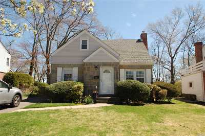 New Hyde Park Single Family Home For Sale: 66 Maple Dr