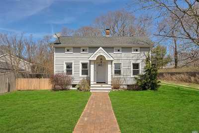 Hampton Bays Single Family Home For Sale: 27 Shinnecock Rd