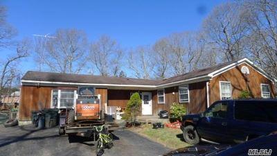Ridge Single Family Home For Sale: 8 Peconic Rd