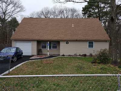 Mastic Beach Single Family Home For Sale: 234 Mastic Rd