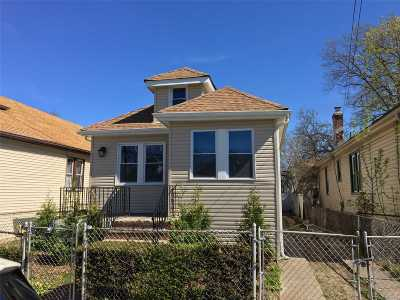 Jamaica Single Family Home For Sale: 170-16 118th Rd