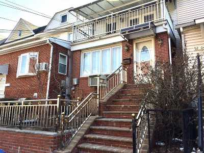 Woodhaven Single Family Home For Sale: 92-06 93rd Ave
