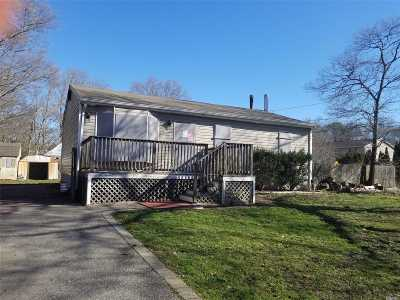 Shirley Single Family Home For Sale: 59 Dawn Dr