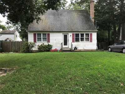 Mastic Single Family Home For Sale: 106 Bedford Ave