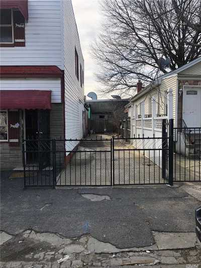 Jamaica Single Family Home For Sale: 116-44 126 St