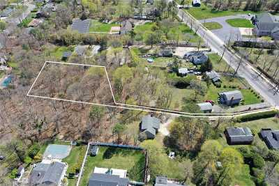 Hampton Bays Residential Lots & Land For Sale: 99b Ponquogue Ave