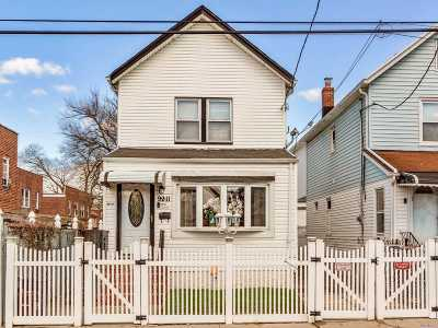 Queens Village Single Family Home For Sale: 99-11 215th St