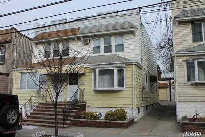 Astoria, Long Island City, Sunnyside, Middle Village, Jackson Heights, Woodside Single Family Home For Sale: 66-35 75th St