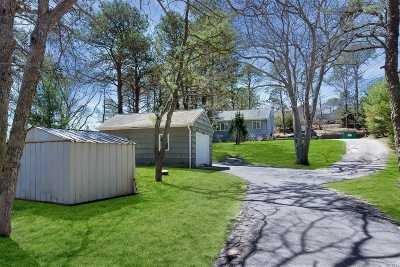 Hampton Bays Single Family Home For Sale: 24 E Hillover Rd