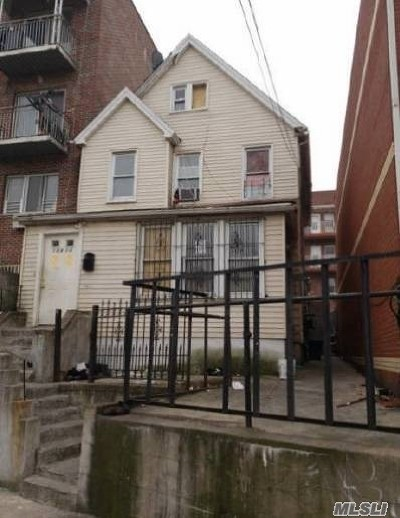 Flushing Multi Family Home For Sale: 108-14 37th Ave