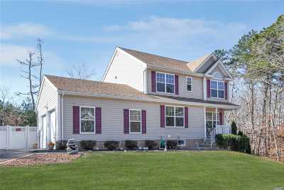 Single Family Home For Sale: 655 Wading River Hol Rd