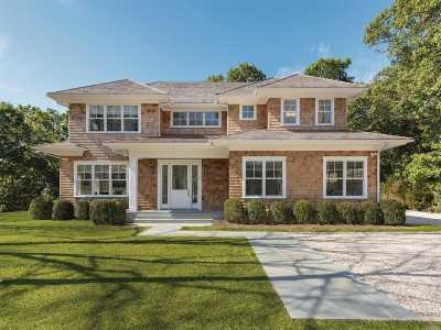 Sag Harbor Single Family Home For Sale: 20 Woodland Dr