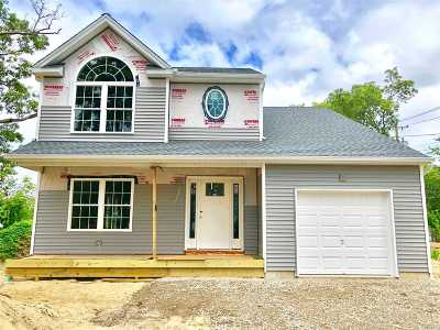 Patchogue Single Family Home For Sale: 5 Poe Place