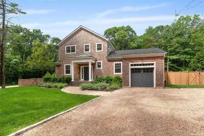 Amagansett Single Family Home For Sale: 97 Oak Lane