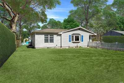 E. Quogue Single Family Home For Sale: 2780 Quogue Riverhead Rd