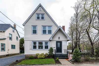 Nassau County, Suffolk County Single Family Home For Sale: 22 Park Pl