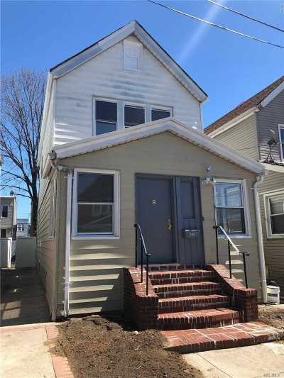 Woodhaven Single Family Home For Sale: 88-59 75th St