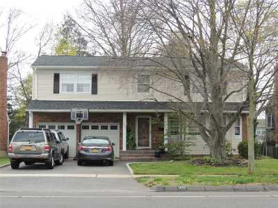 Wantagh Single Family Home For Sale: 1592 Wantagh Ave