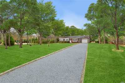 Sagaponack Single Family Home For Sale: 142 Toppings Path