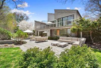 East Hampton Single Family Home For Sale: 85 Oyster Shores Rd