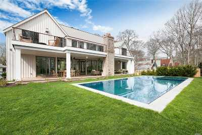 Sag Harbor Single Family Home For Sale: 74 Hillside Dr