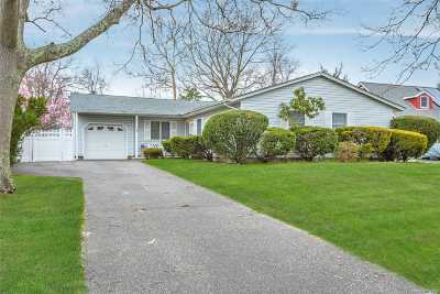 Sayville Single Family Home For Sale: 41 Lucille Dr