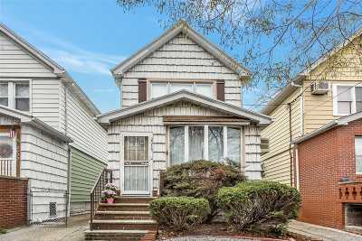 Brooklyn Single Family Home For Sale: 2018 Coleman St