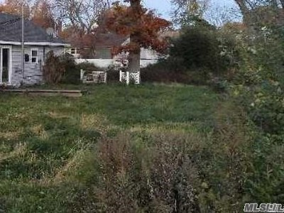Patchogue Residential Lots & Land For Sale: 19 Milton Ct