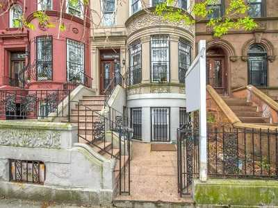 Brooklyn Multi Family Home For Sale: 396 Sterling Pl