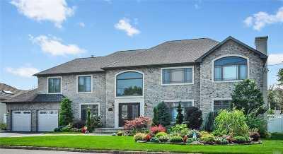 Massapequa Single Family Home For Sale: 54 Lagoon Blvd