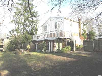 Mastic Single Family Home For Sale: 59 Overlook Dr