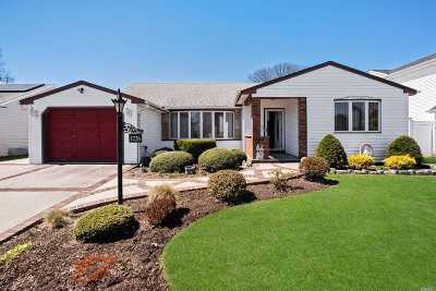 Wantagh NY Single Family Home For Sale: $589,000