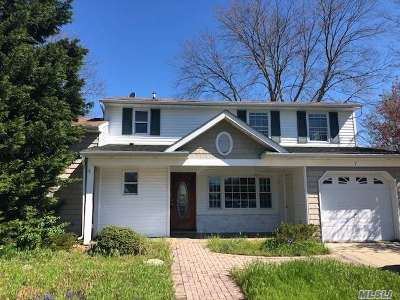 Selden NY Single Family Home For Sale: $344,900