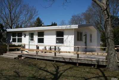 Southampton Single Family Home For Sale: 80 Shore Rd