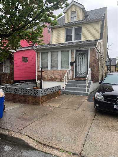 Single Family Home For Sale: 107-28 139th St
