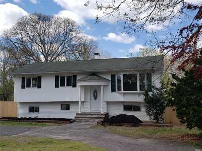 Selden Single Family Home For Sale: 146 N Evergreen Dr