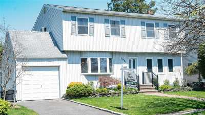 Wantagh Single Family Home For Sale: 2987 Bellport Ave