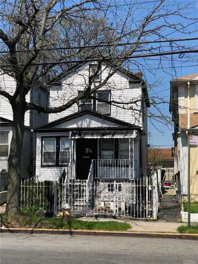 Single Family Home For Sale: 150-17 Linden Blvd