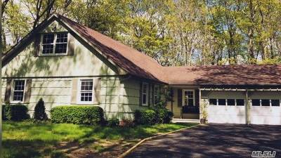 East Moriches Single Family Home For Sale: 49 Mill Pond Ln