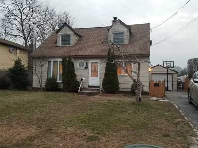 Deer Park NY Single Family Home For Sale: $220,000