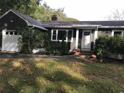 Center Moriches Single Family Home For Sale: 167 Belleview Ave