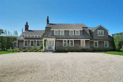 Quogue Single Family Home For Sale: 9 Assups Neck Ln