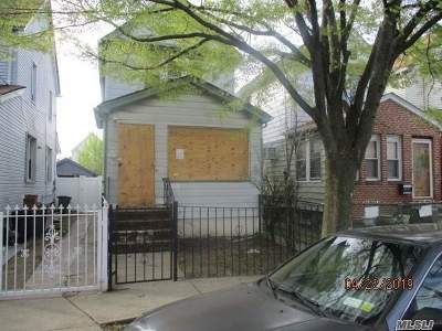 Queens County Single Family Home For Sale: 150-18 115th Dr