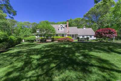 Nissequogue Single Family Home For Sale: 3 Hawks Nest