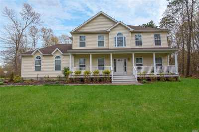 Yaphank Single Family Home For Sale: 148 Mill Rd